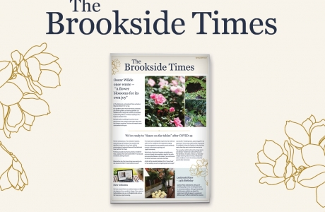 The spring edition of the Brookside Times has arrived!