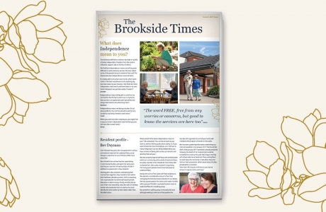 The autumn edition of the Brookside Times has arrived!